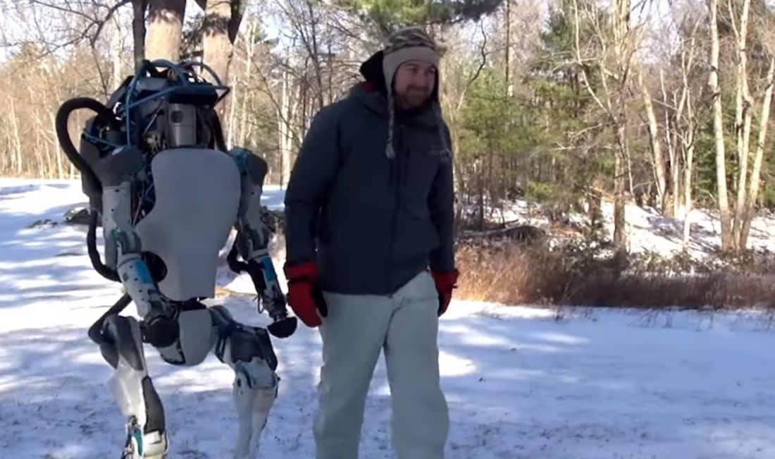 robot Boston Dynamics Atlas
