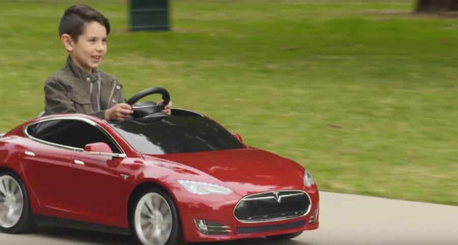 jouets connectes Tesla enfants