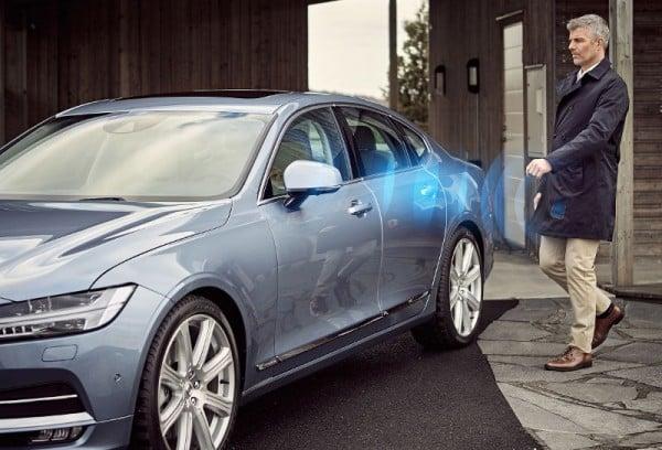 digital key pour voiture intelligente