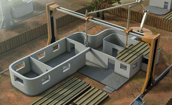 Impression 3d de votre maison un r ve devenu r alit for Imprimante 3d geante maison