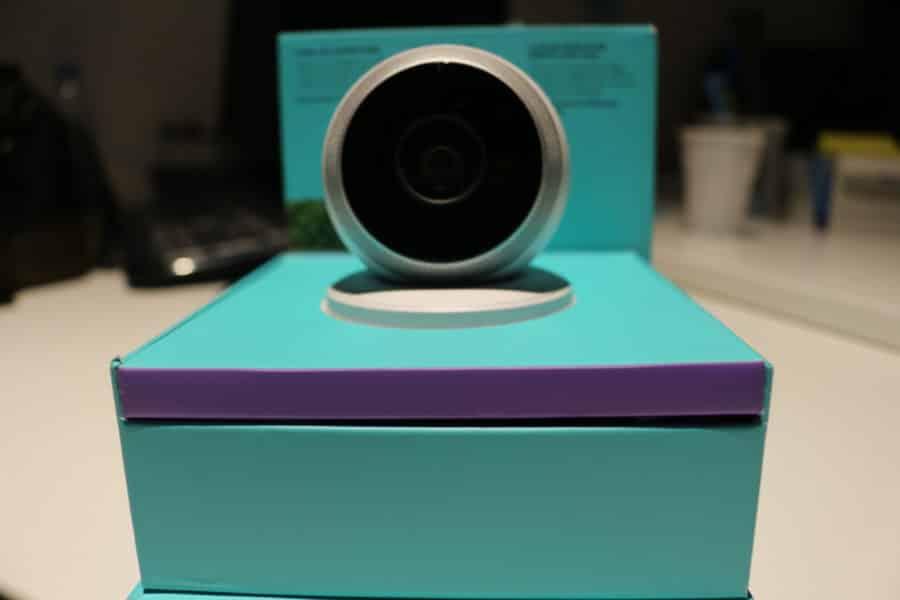 test logi circle unboxing caméra connectée