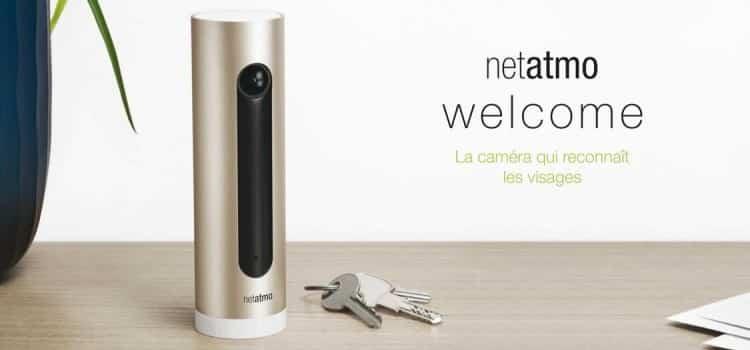 Netatmo Welcome surveillance