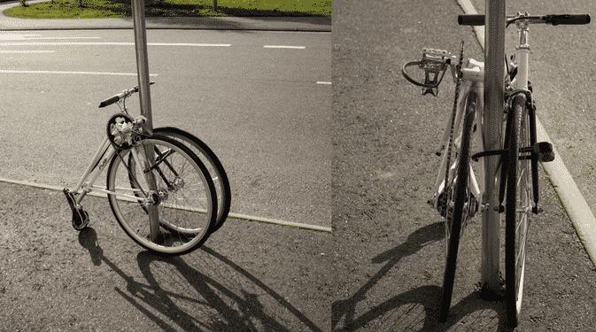 fubi fixie un vélo pliant