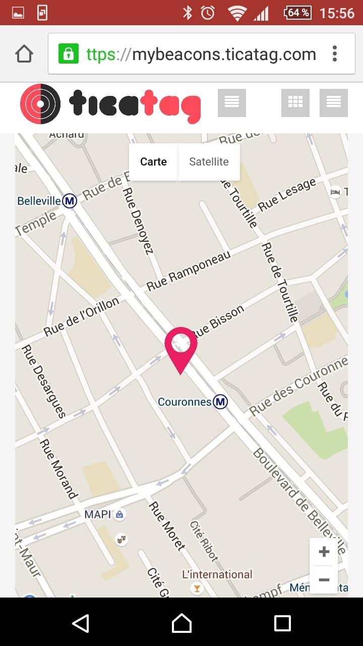 TiFiz Ticatag balise GPS connectee 10