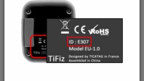 TiFiz Ticatag balise GPS connectee 13
