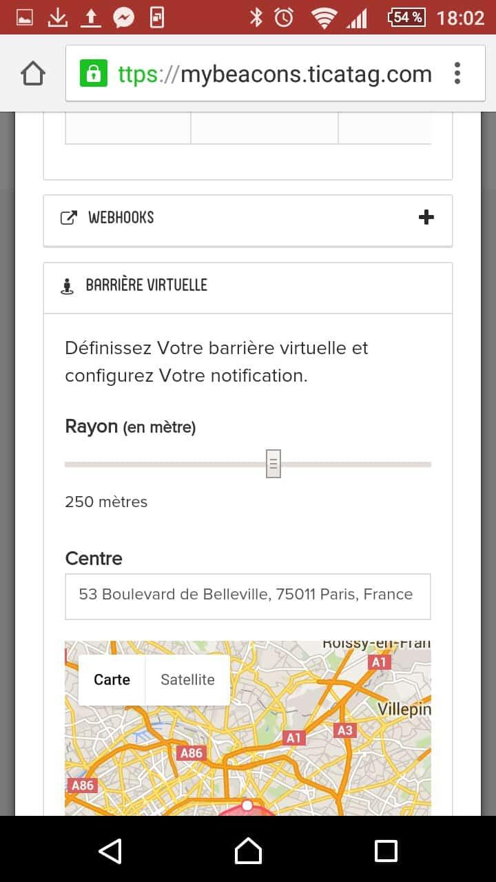 TiFiz Ticatag balise GPS connectee 15