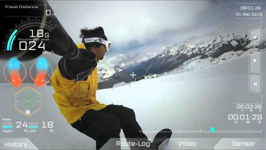 xon snowboard connecté ski connecté