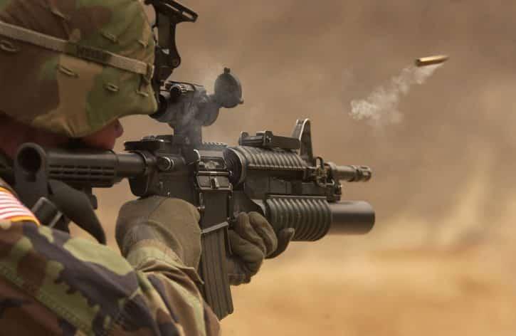 soldat arme
