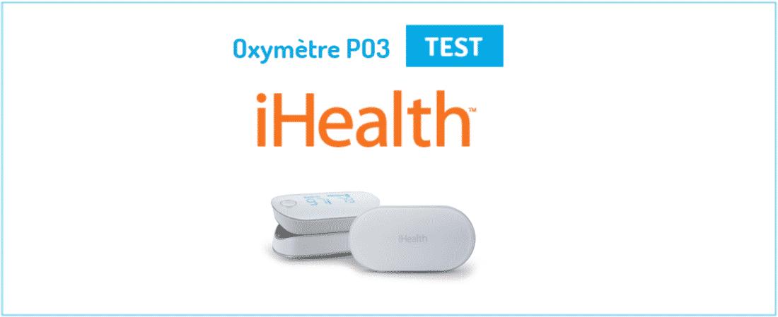 iHealth Oxymètre PO3 une
