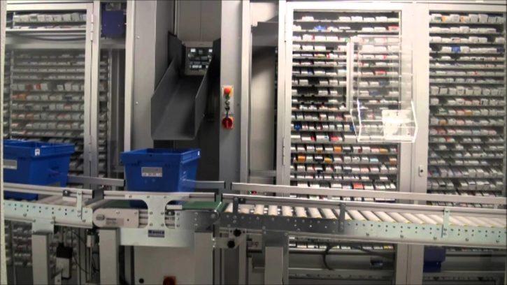 MACH 4 le robot pour réduire le temps d'attente dans les pharmacies