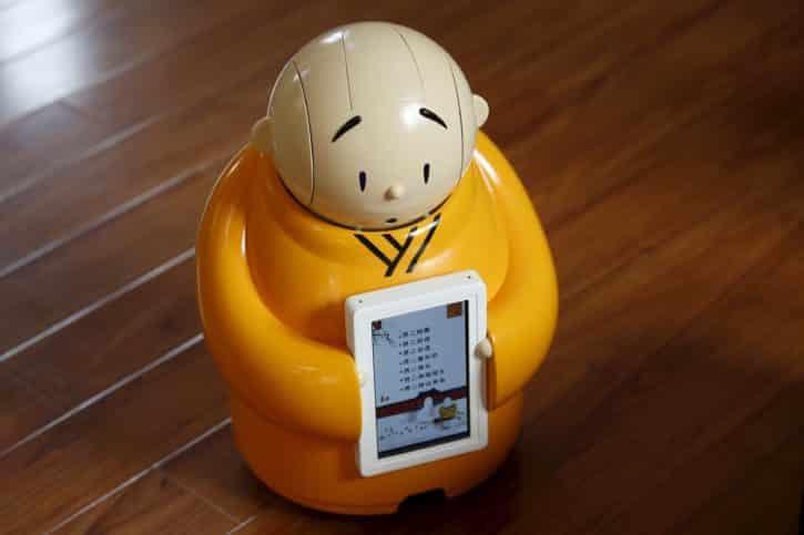 Xian'er, robot compagnon, bouddhiste,