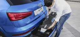 Une trottinette connectée dans le dernier concept-car d'Audi