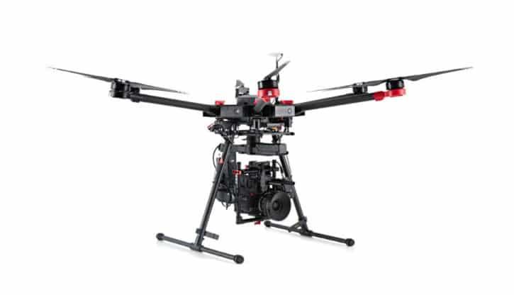 M600le nouveau drone pour le cinéma