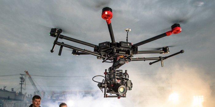 le drone spécial cinéma