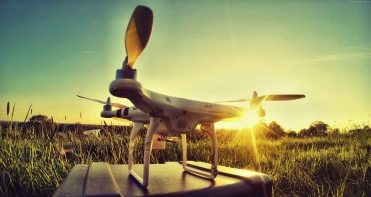 groupes de drones 1 drone seul