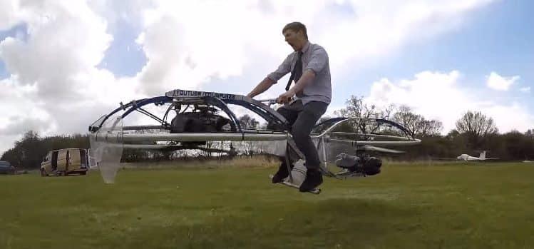 hoverbike colin furze