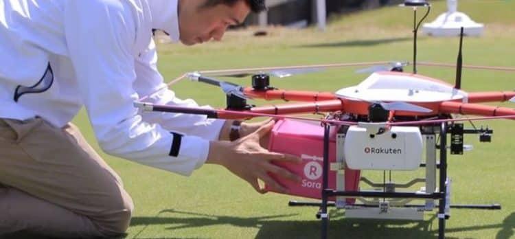 rakuten drone
