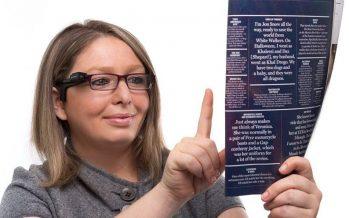 Orcam MyEye donne le goût de la lecture aux aveugles