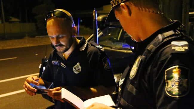 Policers check permis de conduire numérique