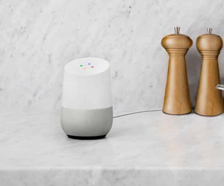 Dispositif Google Home
