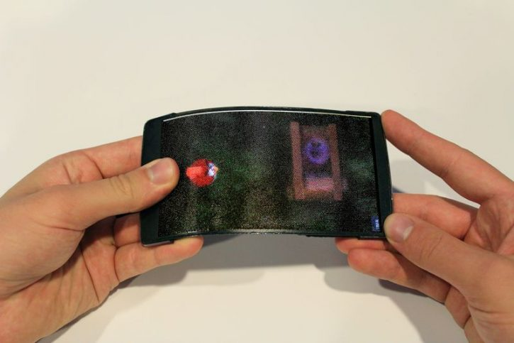 HoloFlex pliable