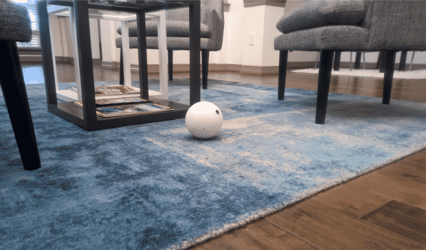 Orbii caméra sécurité connectée tapis