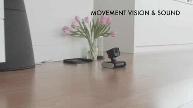 Smart Droid robot capteur mouvement vision haut parleur de près