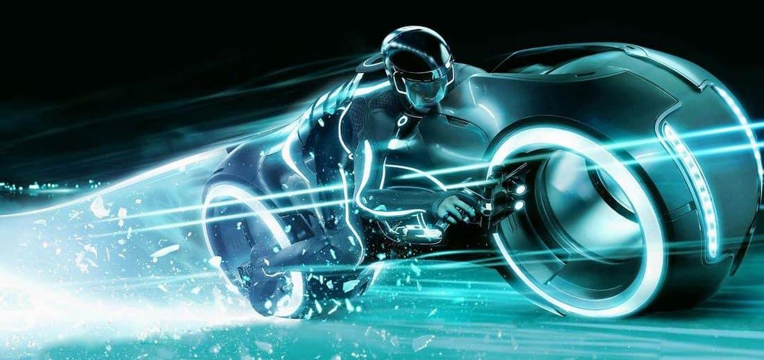 Light rider moto du futur