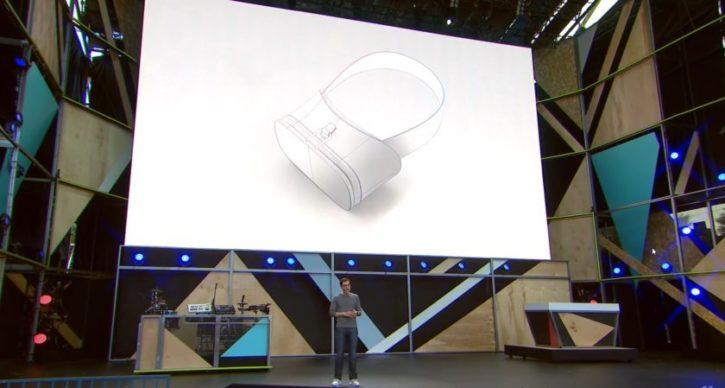 Google IO nouveau casque VR