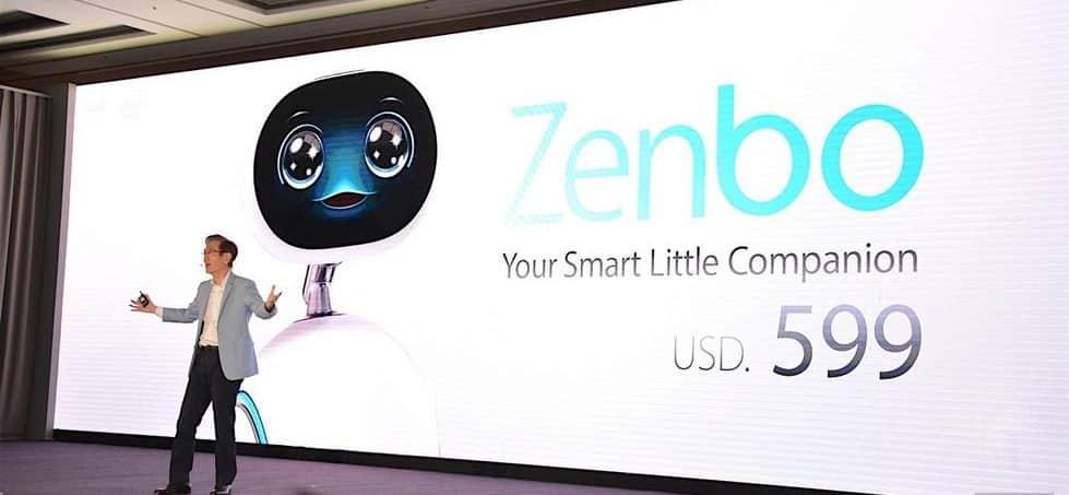zenbo robot compagnon