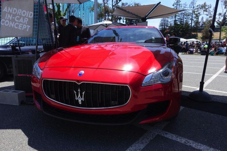 Maserati Google Android Auto