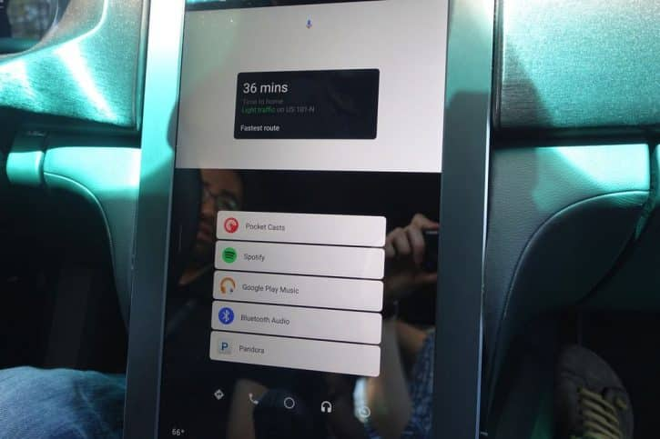 Android Auto fonctionnalites