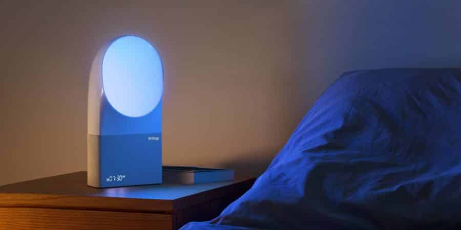 L'Aura Withings reveil intelligent chambre connectee