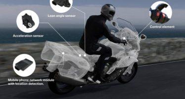 BMW annonce le premier système d'appel d'urgence pour les motards