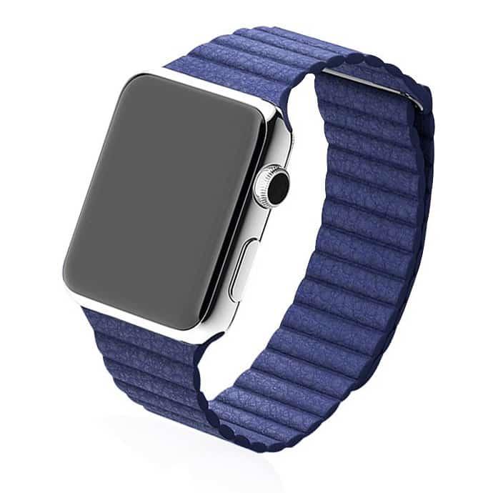 bracelet Apple Watch fermeture magnétique