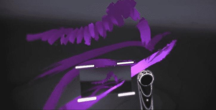 capture d'écran tilt brush google pinceau