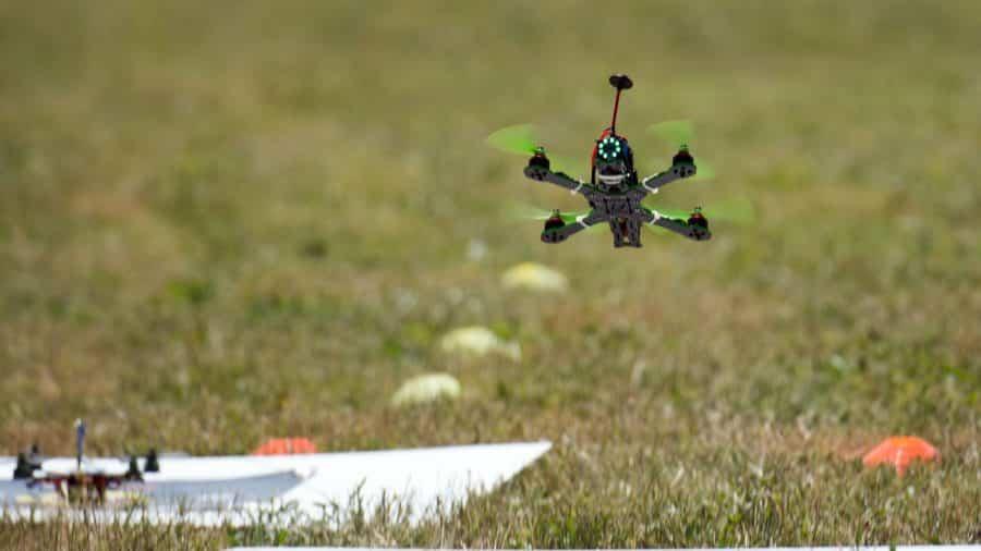 courses de drone drone detail drone en action