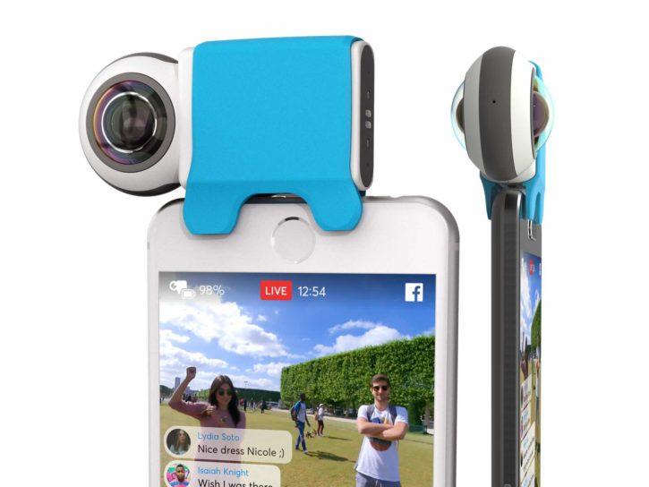 caméra 360 smartphone Giroptic IO