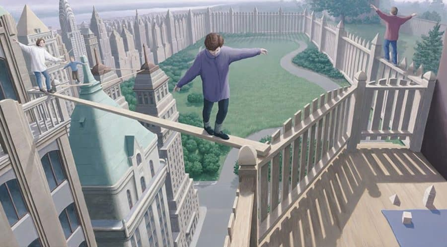 hyper-realite illusion de ce que l'on voit sans voir
