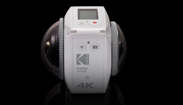 Caméra 360 degrés Kodak Pixpro 4KVR360