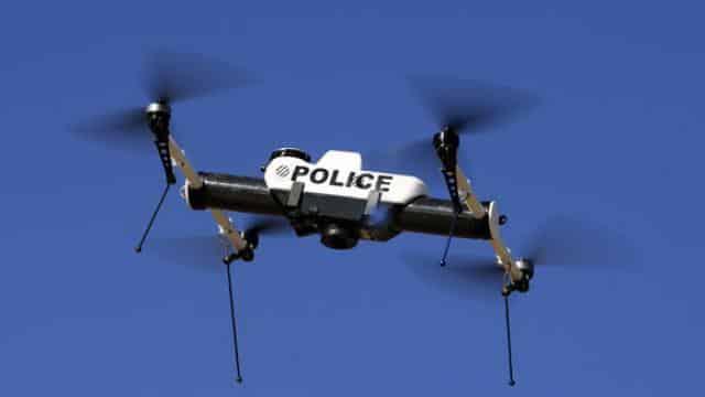 drone policier
