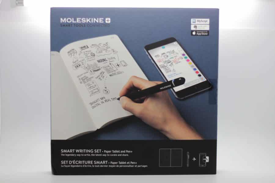 moleskine unboxing devant packaging