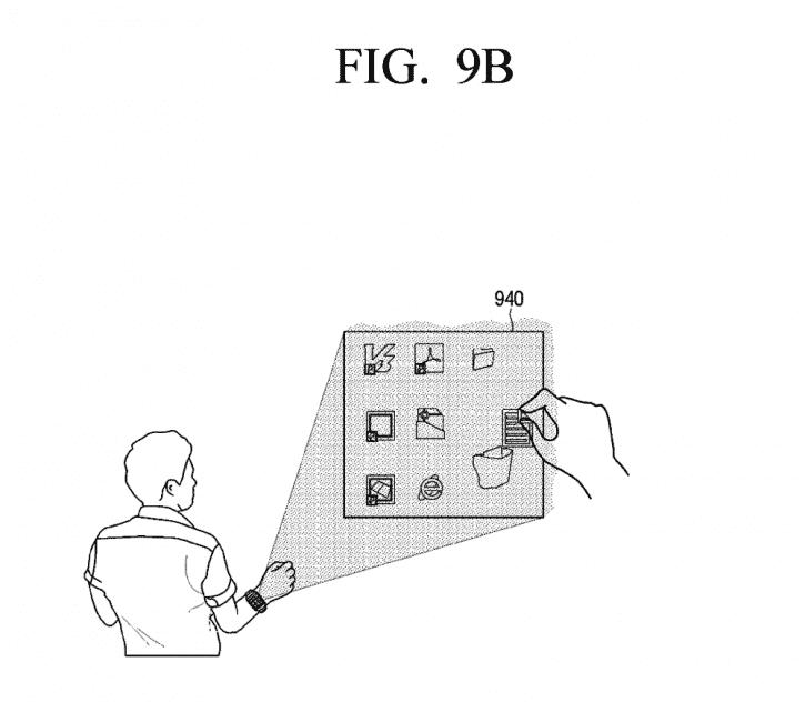montre connectée projecteur samsung