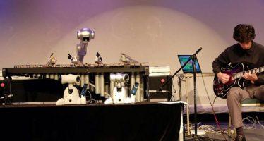 Shimon, le robot qui va plus vite que la musique