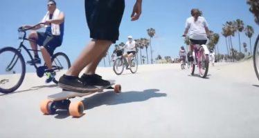 Yuneec E-go : le skateboard de demain