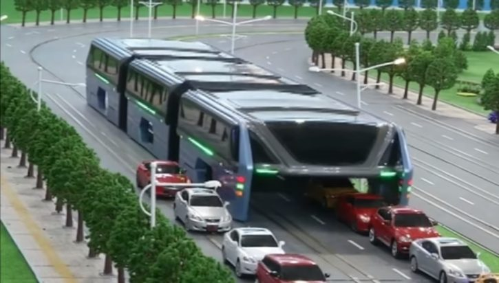 TEB, train futuriste chinois