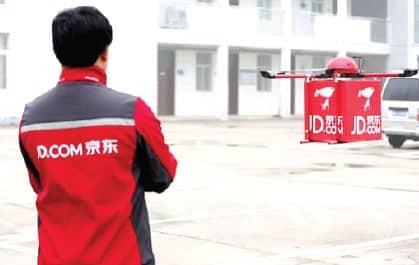livraison drones