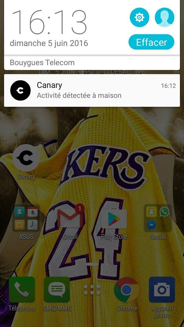 canary caméra hd