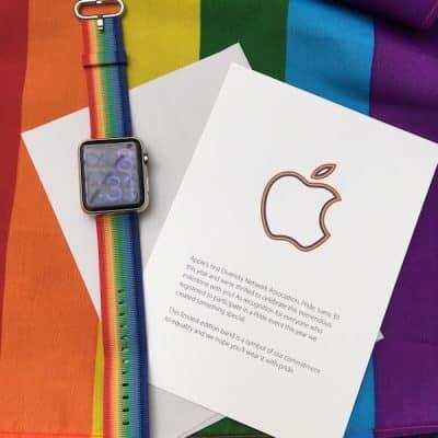 Apple Watch Bracelet Gay Pride 2016