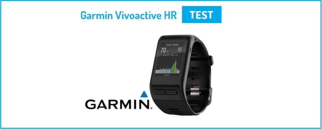 Test Garmin Vivoactive HR